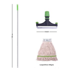 SpringMop PRO Wet Mop Set; Al350, Green