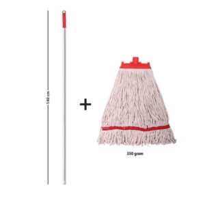 SpringMop Smart Wet Mop Set; AL350, Red Code