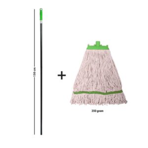 SpringMop Smart Wet Mop Set MS350; Green Code